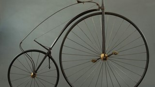 Vysoké kolo, High wheel, Penny farthing, Ordinary, Hochrad, Kohoutovka...