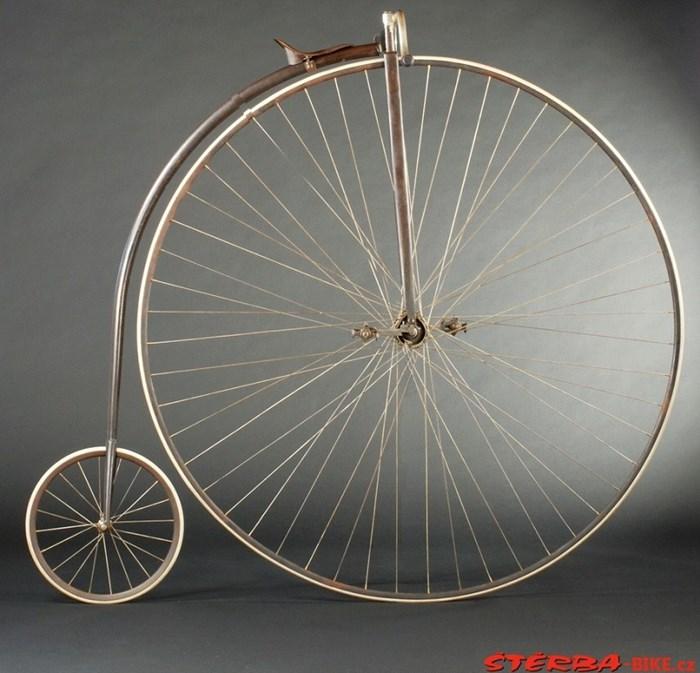 Vývoj závodních kol. Vysoká závodní kola....