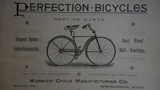 Historie pružení 18. Warwick Perfection Bicycle