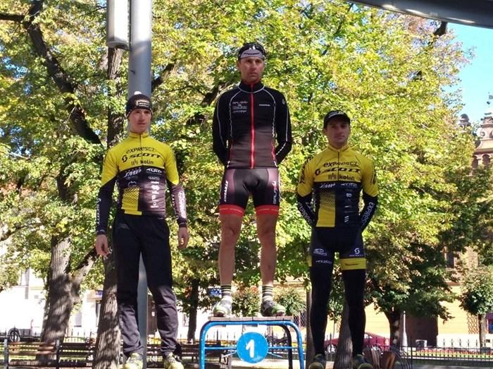 Emil Hekele vyhrál druhý závod Slovenského poháru v cyklokrosu