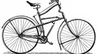 Historie pružení 6. The Whippet full suspension bicycle, roky 1886 - 1892